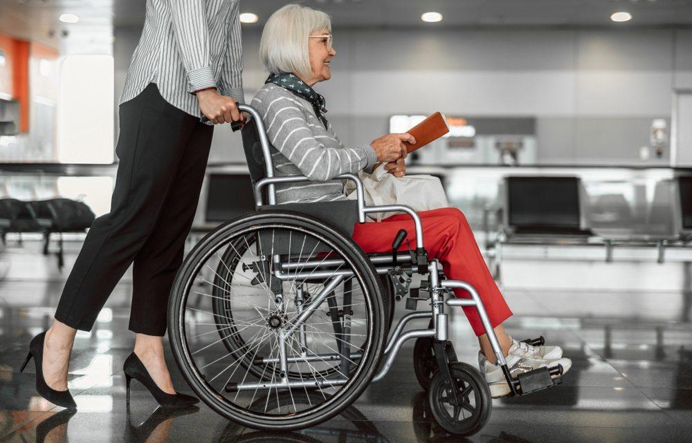 Services pour les personnes à mobilité réduite à l'aéroport de Mulhouse